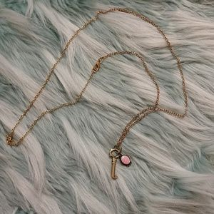 Jewelry - *4 for $20* Opal and key necklace